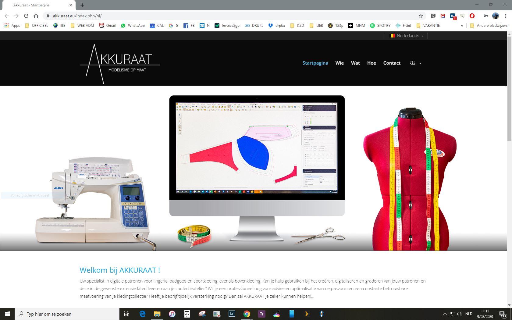 Website Akkuraat